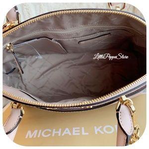 Michael Kors Bags - MICHAEL KORS EMMY LARGE DOME SATCHEL IN BALLET